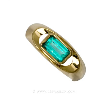[:en]Lee Wasson´s 19382 Yellow Gold Ring[:es]Lee Wasson 19382 Anillo Oro Amarillo