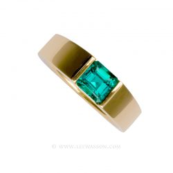 Colombian Emerald Ring 19481