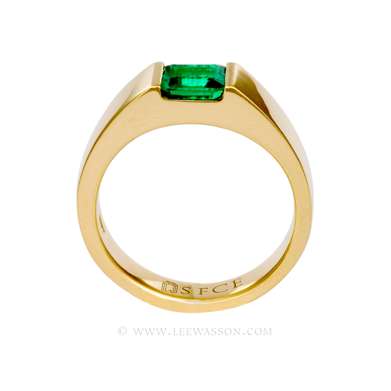 [:en]Lee Wasson´s 19481 Yellow Gold Ring[:es]Lee Wasson 19481 Anillo Oro Amarillo