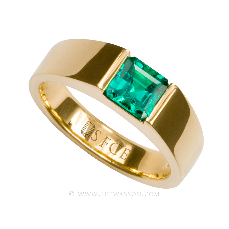 [:en]Lee Wasson´s 19481 Yellow Gold Ring[:es]Lee Wasson 19481 Anillo Oro Amarillo