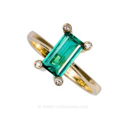 Colombian Emerald Ring 19507