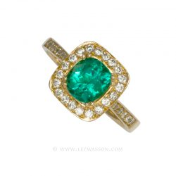 Colombian Emerald Ring 19550