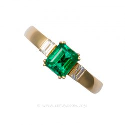 Colombian Emerald Ring 19553