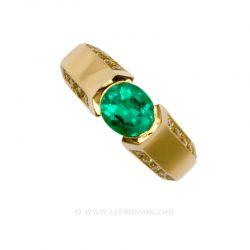 Colombian Emerald Ring 19554