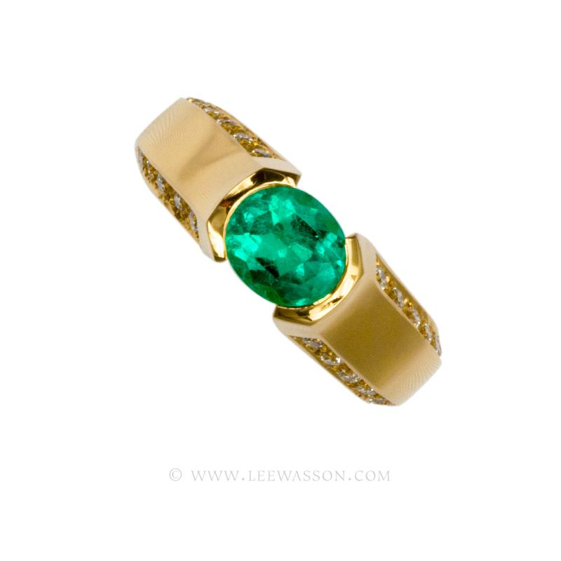 [:en]Lee Wasson´s 19554 Yellow Gold Ring[:es]Lee Wasson 19554 Anillo Oro Amarillo
