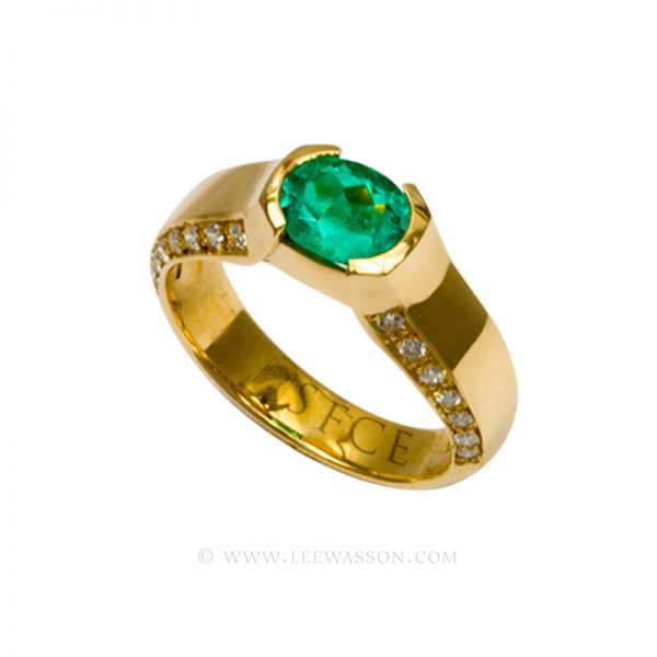[:en]Lee Wasson´s 19554 Yellow Gold Ring[:es]Lee Wasson 19554 Anillo Oro Amarillo