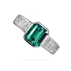 Colombian Emerald Ring 19404