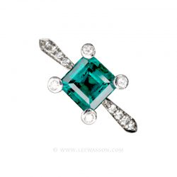 Colombian Emerald Ring 19409