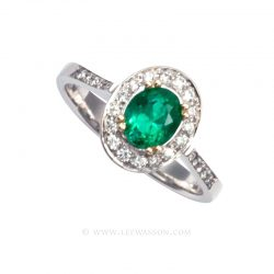 Colombian Emerald Ring 19561