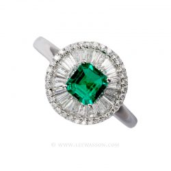 Colombian Emerald Ring 19597