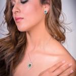 [:en]Lee Wasson´s 19603 Colombian Emerald White Gold Pendant[:es]Lee Wasson 19603 Pendiente Esmeralda Colombiana Oro Blanco