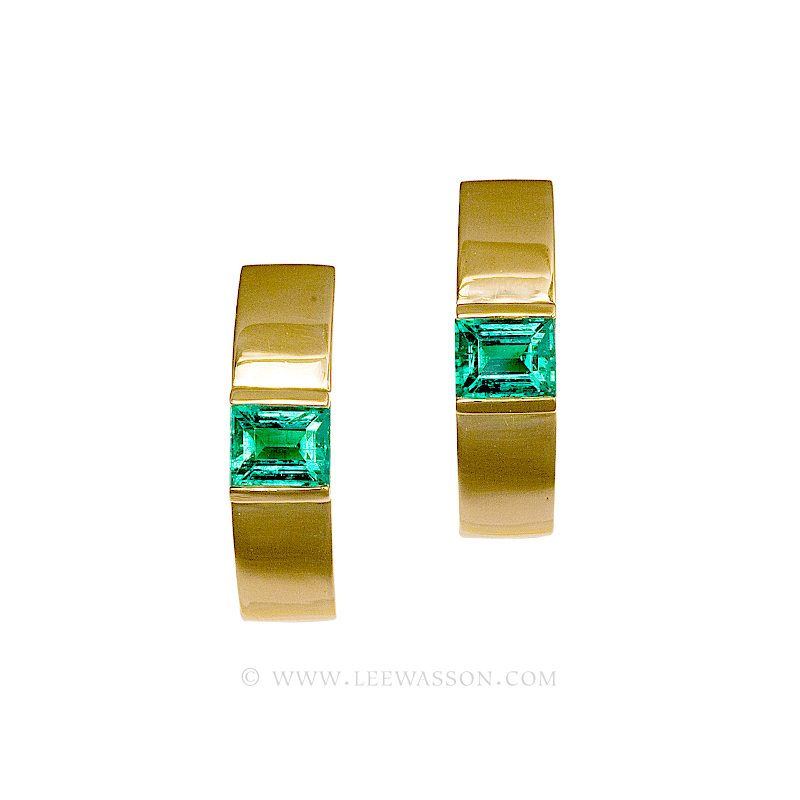 [:en]Lee Wasson´s 19504 Yellow Gold Errings[:es]Lee Wasson 19504 Aretes Oro Amarillo