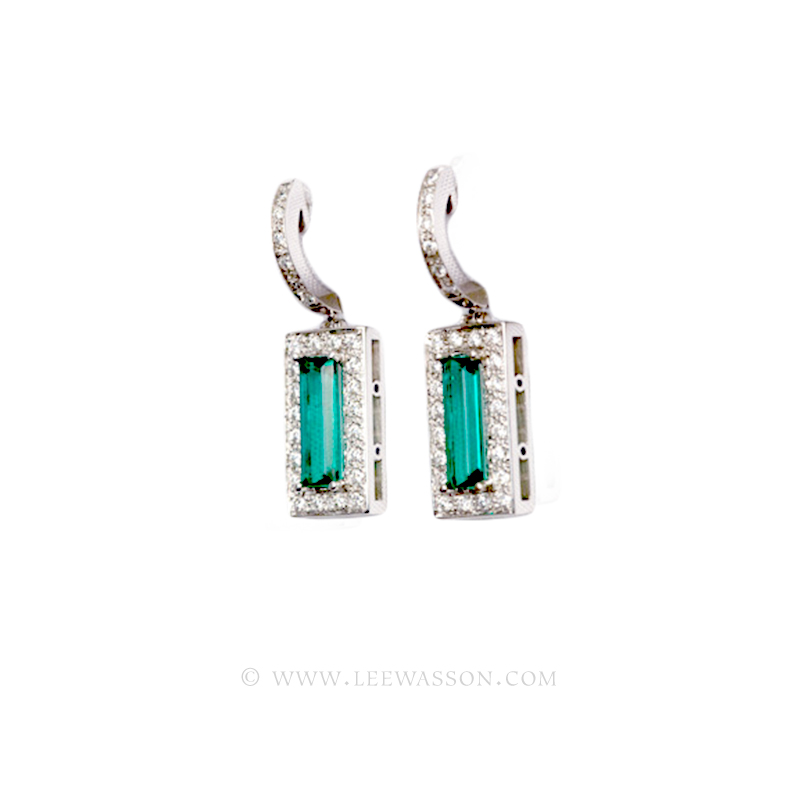 [:en]Lee Wasson´s 19450 White Gold Earring[:es]Lee Wasson 19450 Arete Oro Blanco