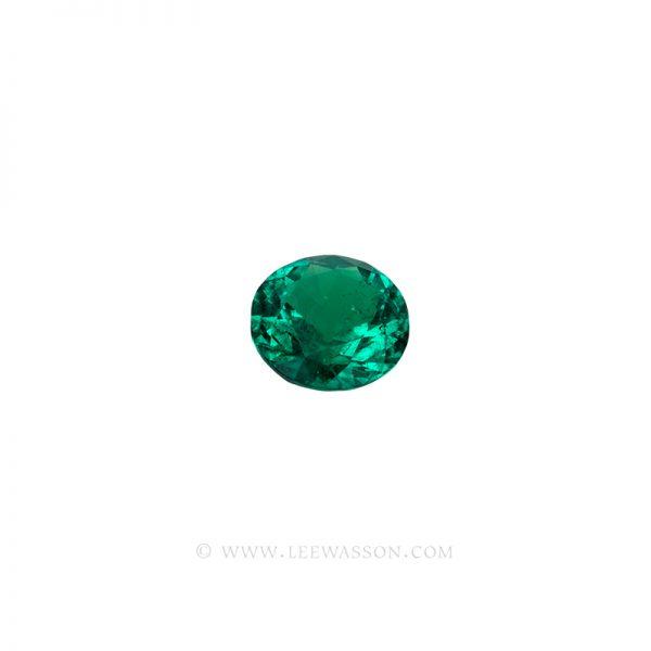 Colombian Emeralds, Round Brilliant Cut Emerald, Approx. 2.00 Carat Sparkling Muzo Mine Emerald. Leewasson.com -10064 -3