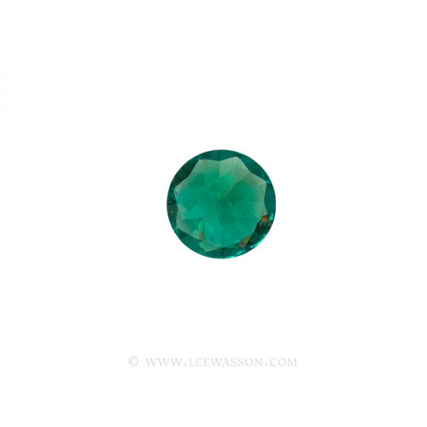 Colombian Emeralds, Round Brilliant Cut Emerald, Approx. 2.00 Carat Sparkling Muzo Mine Emerald. Leewasson.com -10064 -4