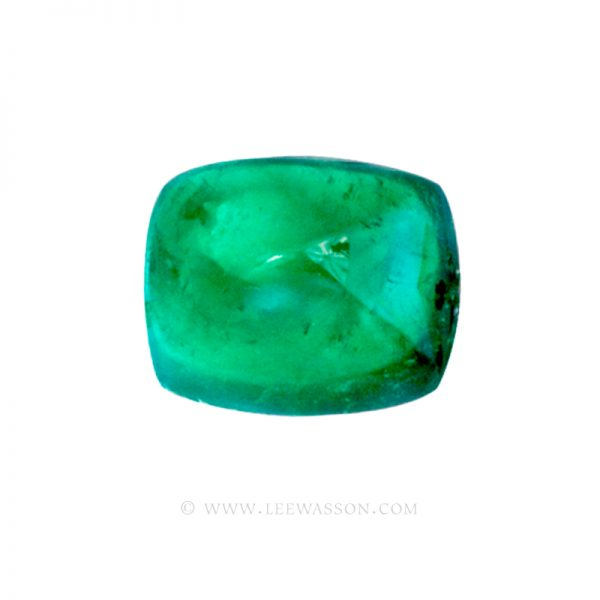 Colombian Emeralds, Sugarloaf Cut Emeralds, Over. 17.00 Carats. leewasson.com - 10050 - 1