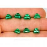 Colombian Emeralds, Sugarloaf cut Emeralds, Cabochon Cut Emeralds - leewasson.com - 10052 -4