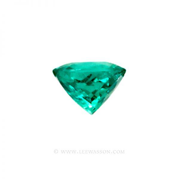 Colombian Emeralds, Cushion Cut Emeralds - leewasson.com - 10013 - 3