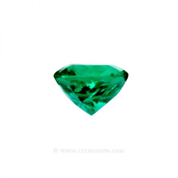 Colombian Emeralds, Cushion Cut Emeralds, Exactly 3.00 Carats. leewasson.com 10017 - 3