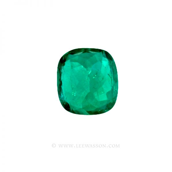 Colombian Emeralds, Cushion Cut Emeralds, Coscuez Mine, Over 3.00 Carats. leewasson.com -10018 - 4