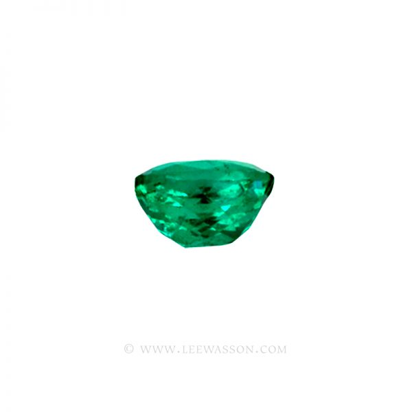 Colombian Emeralds, Cushion Cut Emeralds, Coscuez Mine, Over 3.00 Carats. leewasson.com -10018 - 3
