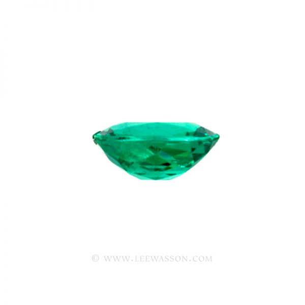 Colombian Emeralds, Cushion Cut Emeralds - leewasson.com - 10019 - 4