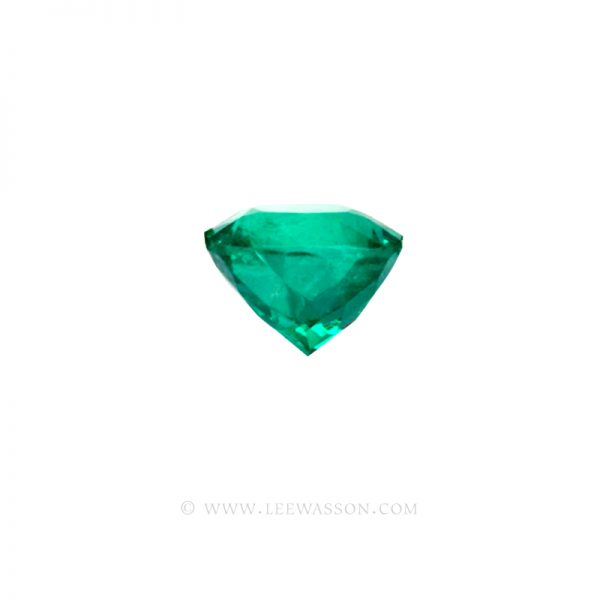 Colombian Emeralds, Cushion Cut Emeralds - leewasson.com - 10030 - 4