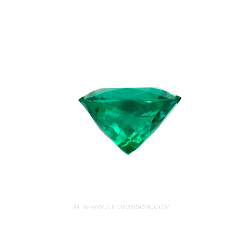Colombian Emeralds, Cushion Cut Emeralds - leewasson.com - 10030 - 3