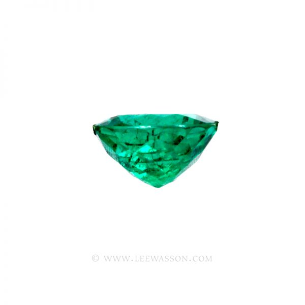 Colombian Emeralds, Cushion Cut Emeralds - leewasson.com - 10045 - 3