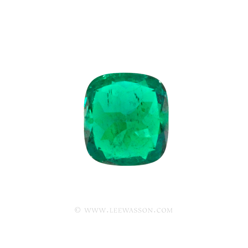 Colombian Emeralds Cushion Cut Emeralds - leewasson.com - 10049 - 3
