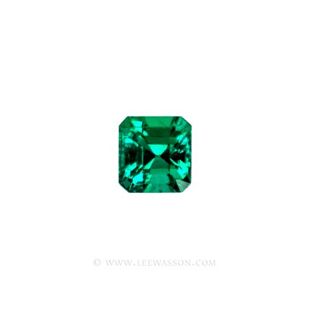 Colombian Emeralds, Asscher cut Emeralds, Square Cut Emeralds, Emerald cut Emeralds - leewasson.com - 1 - 10065