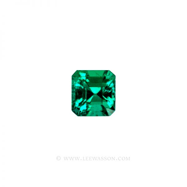 Colombian Emeralds, Square Cut Emeralds, Over 1,50 Carat.  leewasson.com - 10065 -1