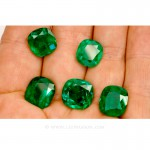 Colombian Emeralds, Set of Cushion Cut Emeralds, Approx. 49.00 Carat. - leewasson.com - 10016 -6