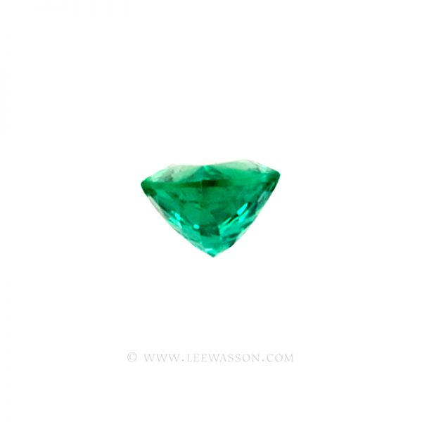 Colombian Emeralds, Pear Shape Emeralds, Over 4.00 Carat, Sparkling Chivor Mine Emerald. leewasson.com – 10025 -3