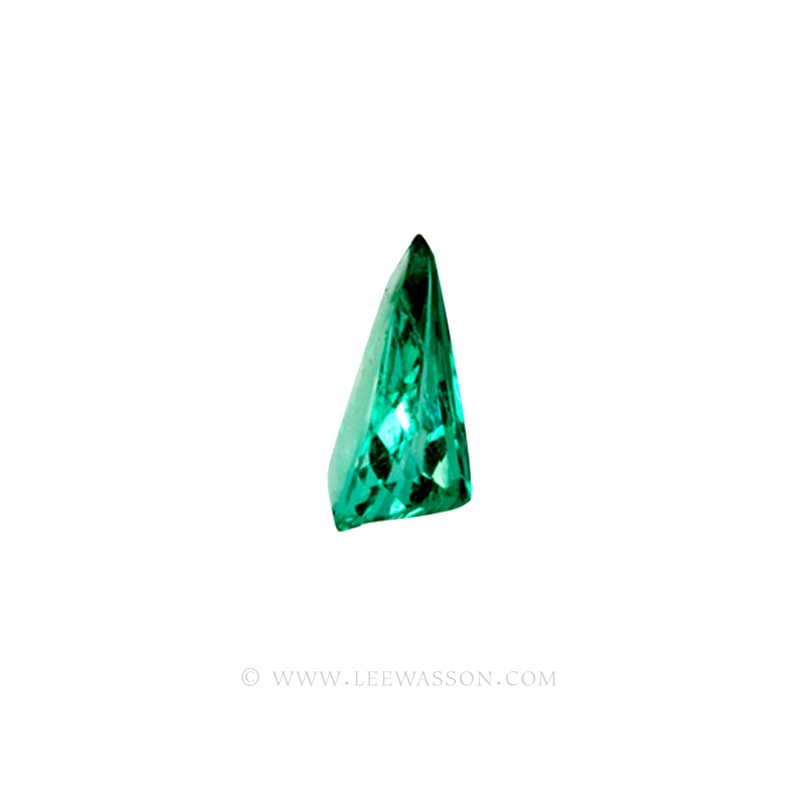 Colombian Emeralds, Tear Shape Emeralds, Over 5.50 Carats. Chivor Mine. leewasson.com -10032 -3