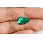 Colombian Emeralds, Tear Shape Emeralds, Over 5.50 Carats. Chivor Mine. leewasson.com -10032 -2