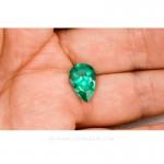 Colombian Emeralds, Tear Shape Emeralds Over 6.50 Carats of Bluish Green. leewasson.com -10038 -2