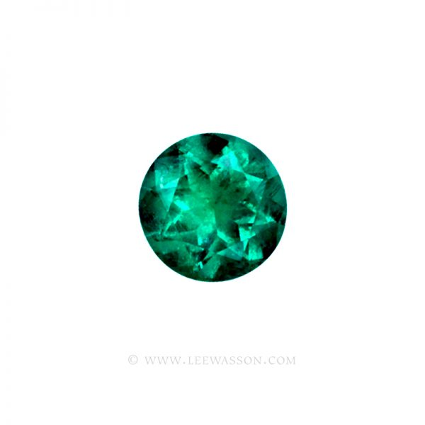 Colombian Emeralds, Round Brilliant Cut Emeralds, Approx. 4.50 Carat – leewasson.com – 10011 - 1
