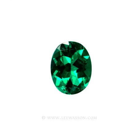 Colombian Emeralds, Oval Shape Emeralds, Aprox 3 Carat Emerald, leewasson.com - 1- 1002
