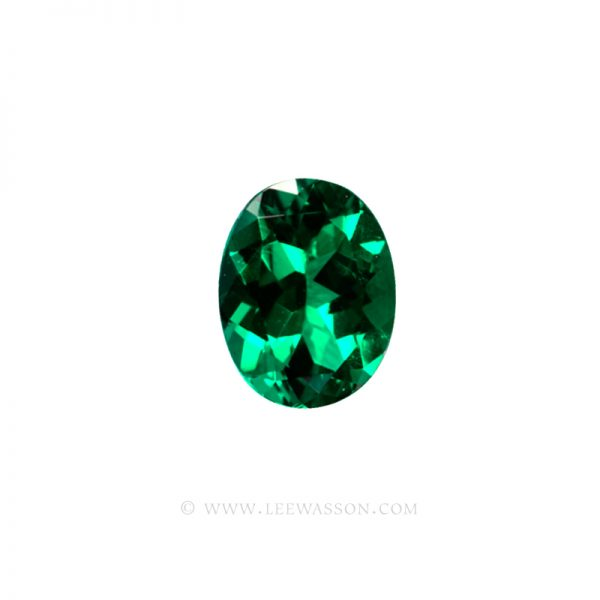 Colombian Emeralds, Oval Cut Emeralds, Approx. 3.00 Carat Emerald, leewasson.com - 1- 1002