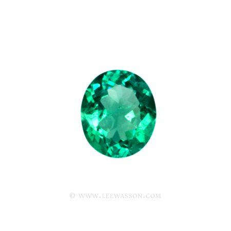 Colombian Emeralds, Oval Cut Emeralds, Aprox 4.00 Carat Emerald, leewasson.com - 1- 10022