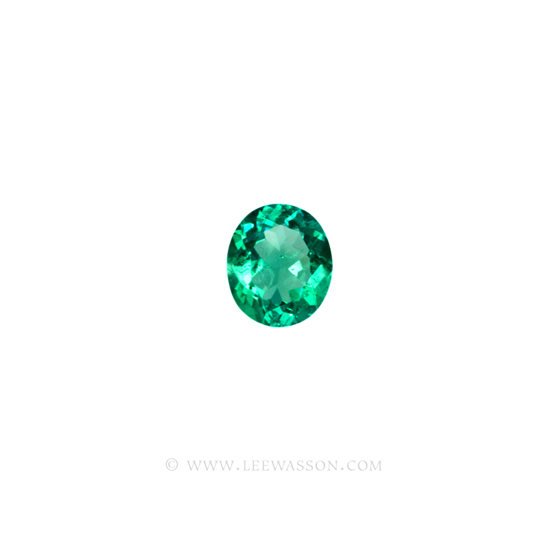 Colombian Emeralds, Oval Shape Emeralds, Aprox 4.00 Carat Emerald, leewasson.com - 2- 10022