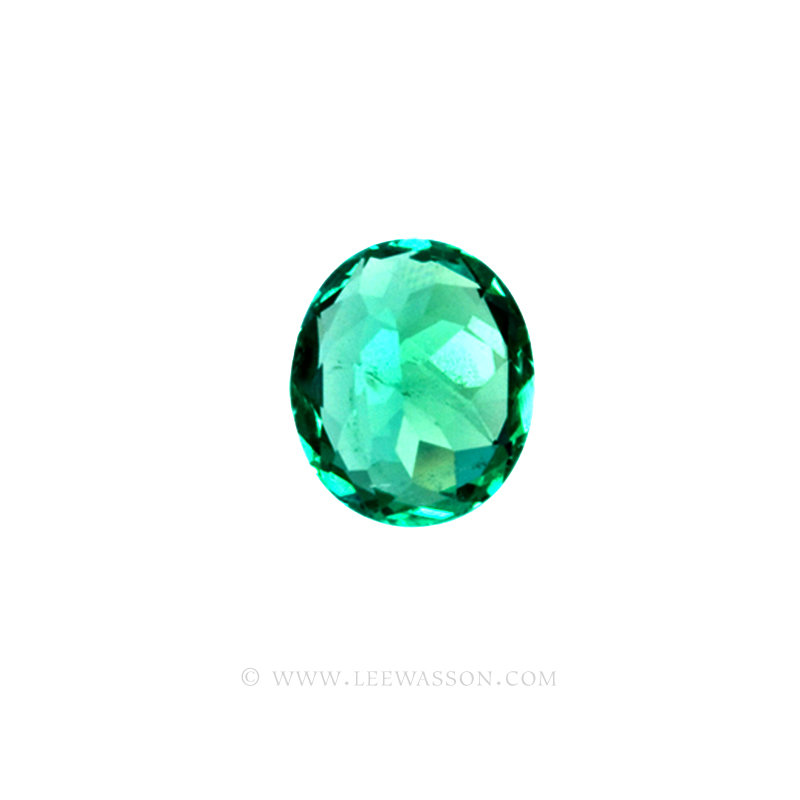 Colombian Emeralds, Oval Cut Emeralds, Aprox 4.00 Carat Emerald, leewasson.com - 4- 10022