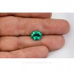 Colombian Emeralds, Oval Cut Emeralds, Aprox 4.00 Carat Emerald, leewasson.com - 5- 10022