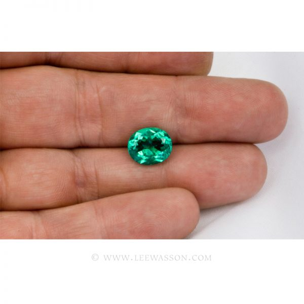 Colombian Emeralds, Oval Cut Emeralds, Aprox 4.00 Carat Emerald, leewasson.com - 5- 10022