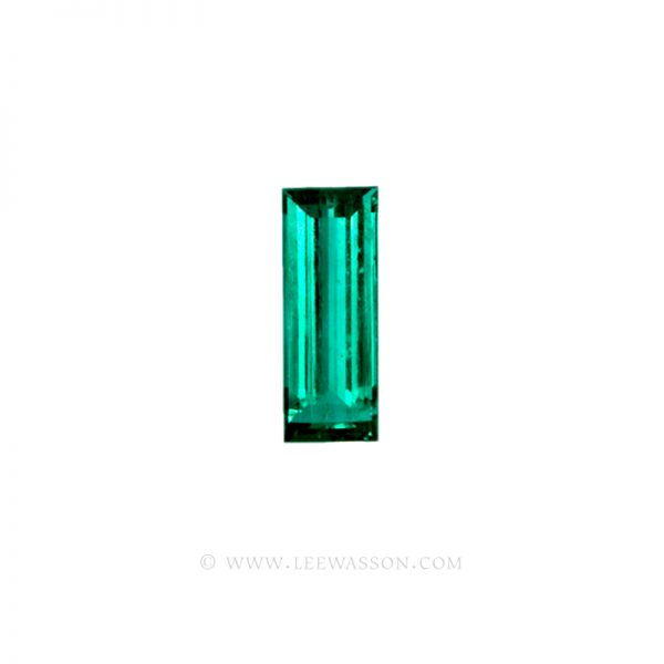 Colombian Emeralds, Bagguette Cut Emeralds, Over 4.00 Carat, leewasson.com – 10024 -1