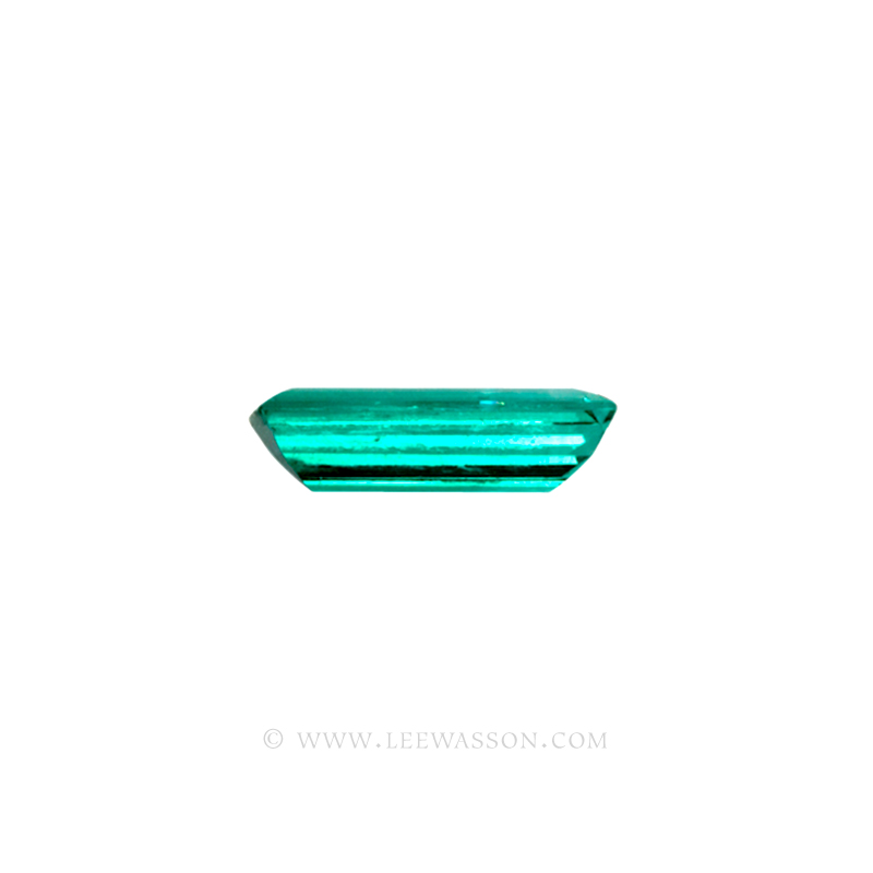 Colombian Emeralds, Baguette cut Emeralds. - leewasson.com - 10024 -3