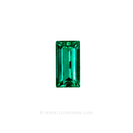 Colombian Emeralds, Baguette cut Emeralds. - leewasson.com - 1 - 10037