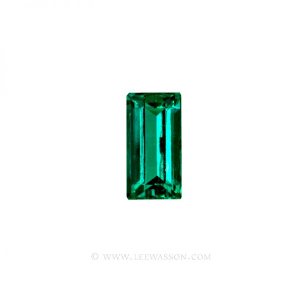 Colombian Emeralds, Baguette cut Emeralds. - leewasson.com - 10037 -2