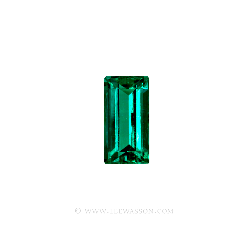 Colombian Emeralds, Baguette cut Emeralds. - leewasson.com - 10037 -2